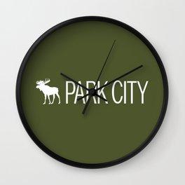 Utah: Park City Moose Wall Clock