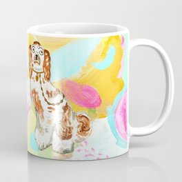 BETTY ON ABSTRACT Coffee Mug
