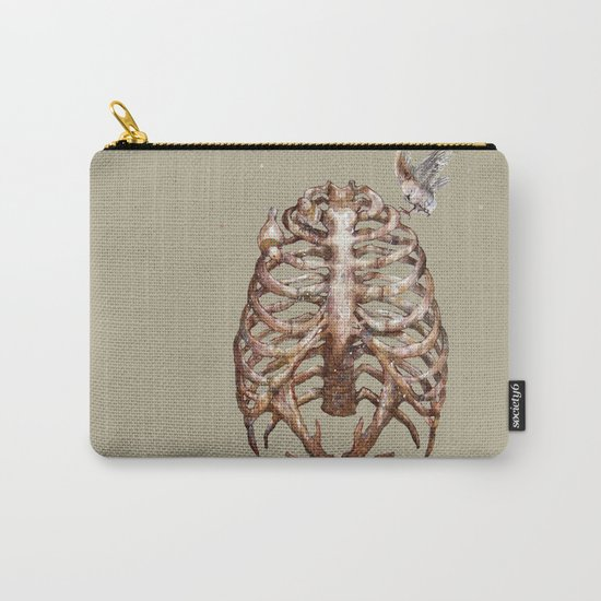 Deer & Ribcage Carry-All Pouch