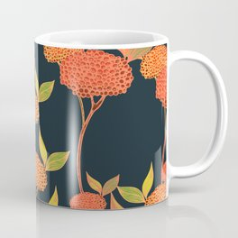 Orange autumn berries. Coffee Mug