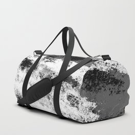 Perseverance Black & White Duffle Bag