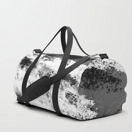 Perseverance Black & White Duffle Bag