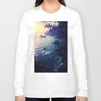 big sur Long Sleeve T-shirts featuring Big Sur by Richard PJ Lambert