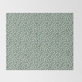 Meadow Green Throw Blanket