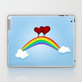 Love on rainbow Laptop & iPad Skin