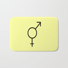 Symbol of Transgender III Bath Mat