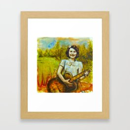 With Love to Jack Framed Art Print