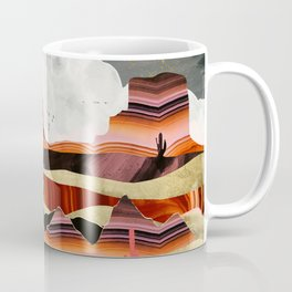 Coral Desert Lake Coffee Mug