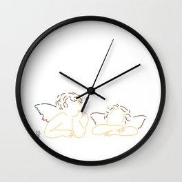 Minimal Raphael Wall Clock