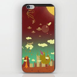The end of the world as we know it! iPhone Skin