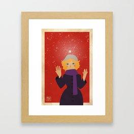 Winter time! Framed Art Print