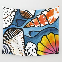 Lots of Lovely Shells  Wall Tapestry