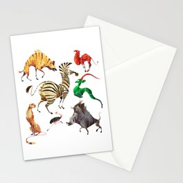 African animals 2 Stationery Cards