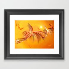 Fairies of the Sun Framed Art Print