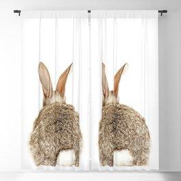 Bunny Tail Print by Zouzounio Art Blackout Curtain
