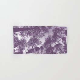 Forest view - lilac Hand & Bath Towel