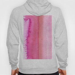 Modern abstract blush pink watercolor paint pattern Hoody