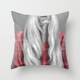 + The Real Her + Throw Pillow