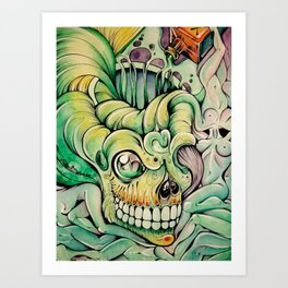 Deadly Delirium Art Print