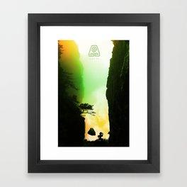 Toph Framed Art Print