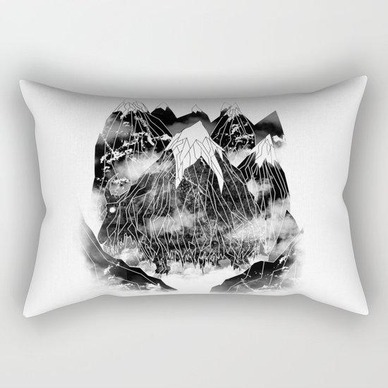 Valley of the Mountain Goat Rectangular Pillow