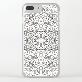 Drawing Floral Doodle G2 Clear iPhone Case