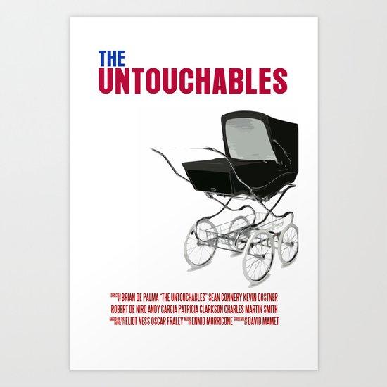 The Untouchables Movie Poster Art Print