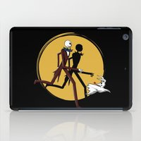 tintin iPad Cases featuring Jack and zero by le.duc