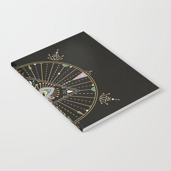Evil Eye Mandala – Black Notebook