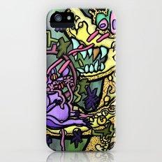 Rabid Rat McDirtmouth vs. Tyrannosaurus Cheese Rex iPhone (5, 5s) Slim Case