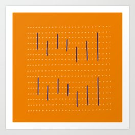 Set Free (Orange Rust Variation) Art Print