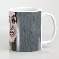 ultraviolence Mugs featuring LDR  by MYLÈNE BRAGINA