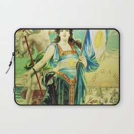 1910 Fernet Branca Liqueur Aperitif Advertisement Poster Print Laptop Sleeve