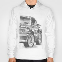 mustang Hoodies featuring Mustang by WNN Creations
