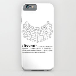 Dissent  iPhone Case