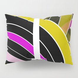 Bright retro records Pillow Sham