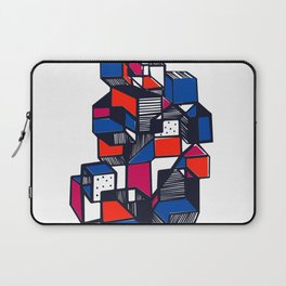 Geometric city pop art Laptop Sleeve