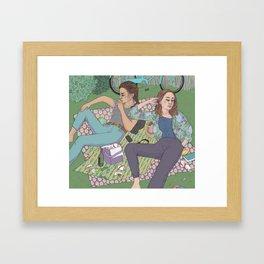 park days Framed Art Print
