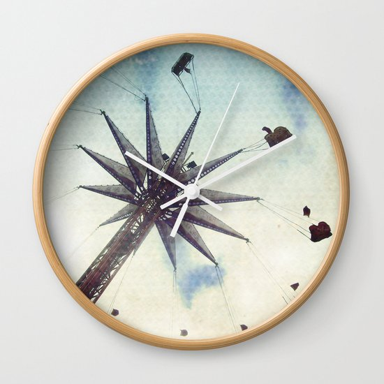 hold on tight Wall Clock