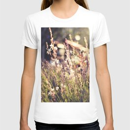 Flowers and light T-shirt