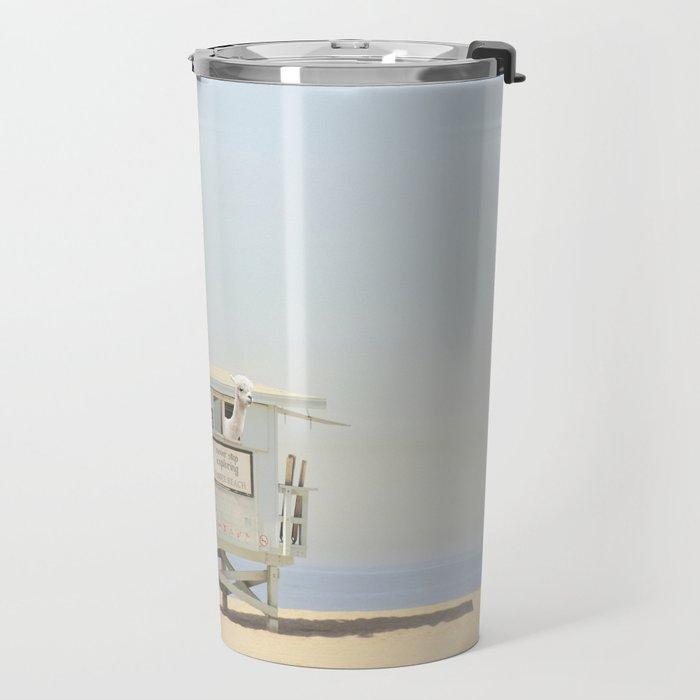 NEVER STOP EXPLORING VENICE BEACH No. 23 Travel Mug