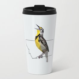 Montana – Western Meadowlark [Fly Home: State Bird Collection] Travel Mug