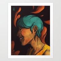 Hair #7 Art Print