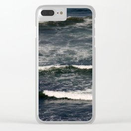 Dramatic water Clear iPhone Case