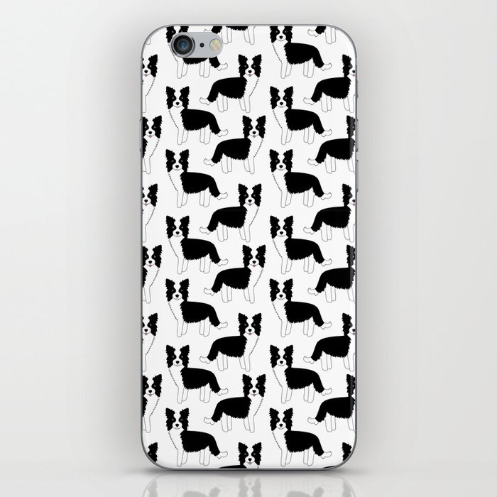 I love my Border Collie iPhone Skin