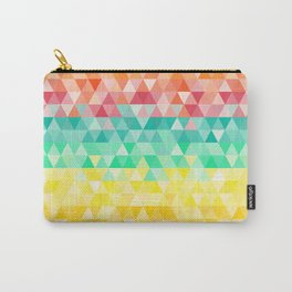 Rainbow triangles Carry-All Pouch