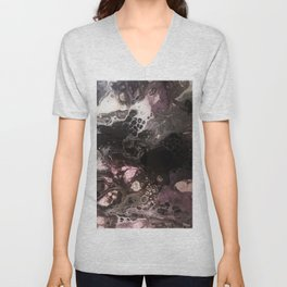 Purple smoke caverns Unisex V-Neck