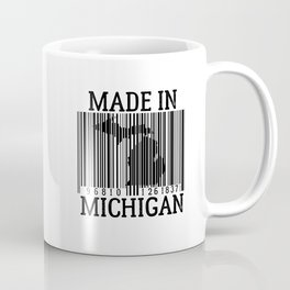 MADE IN MICHIGAN Barcode Coffee Mug