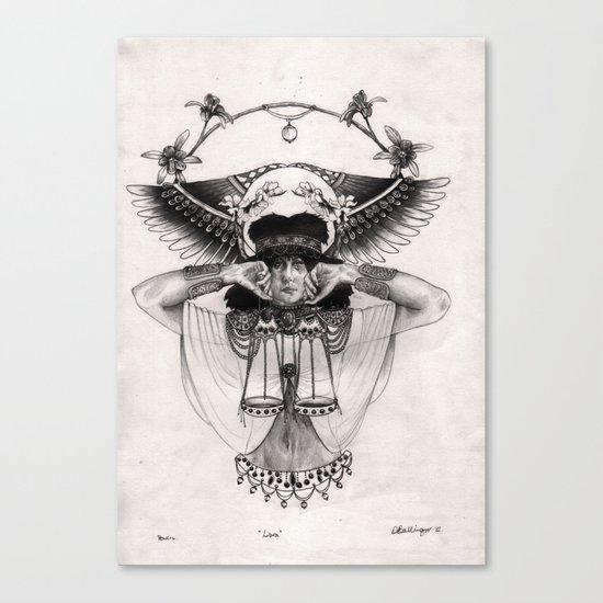 L I B R A  Canvas Print