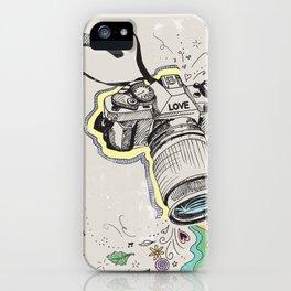 camera love iPhone Case